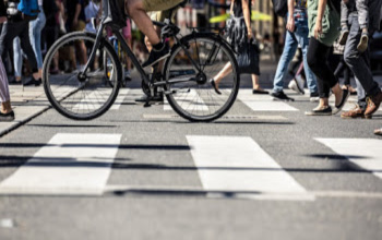Even with Traffic Levels Down, Walkers and Bikers Must Stay Vigilant